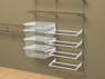 Adding products to wall system, ClosetMaid