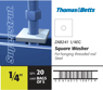 Product label identification, Thomas & Betts